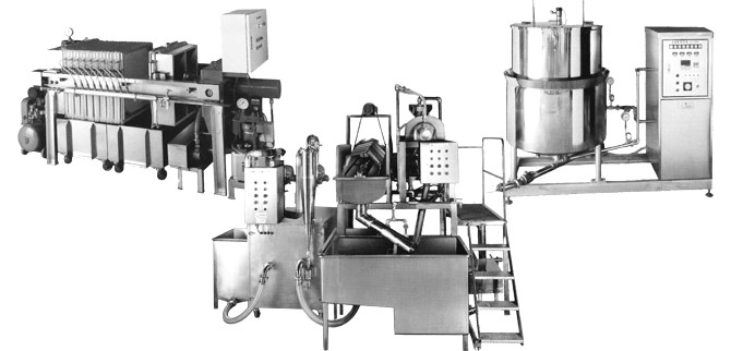 全自動製あんプラントAUZ-1ライン