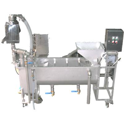 横型豆洗機