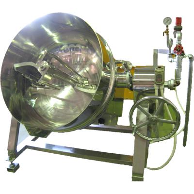 ライスボウル式加熱撹拌機